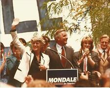 Hand Signed 8x10 photo WALTER MONDALE Vice President to JIMMY CARTER + COA