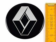 RENAULT ★ 4 Stück ★ SILIKON Ø55mm Aufkleber Emblem Felgenaufkleber Radkappen