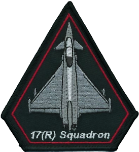No-XVII-17-R-Squadron-Royal-Air-Force-RAF-Crest-MOD-Embroidered-Patch