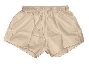 Shorts Vintage '80 Army Sports Light anni Beige Silky Pants Pt Retro Hot awaqFC5