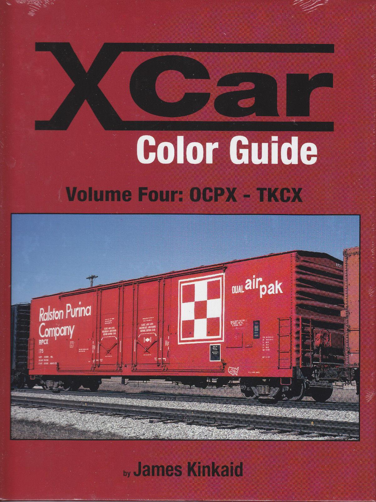 X CAR Color Guide, Vol. 4: OCPX-TKCX --  NEW BOOK