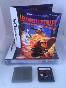 Jeu-Video-Nintendo-DS-Occasion-Les-indestructibles-Heros-Action-Demolisseur