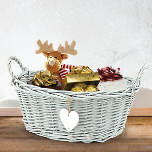 Bathroom Basket Grey Wicker Jewelry Make Up Soap Bin Home Storage Hamper Bedroom 5056331317626 Ebay
