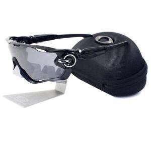 b77489a1fdcdd Oakley OO 9290-01 Jawbreaker Polished Black Iridium Lens Mens Sports ...