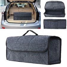 High Quality 49cm Felt Car Rear Trunk Storage Organizer Toolkit Bag Foldable HOT
