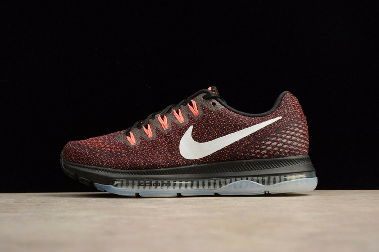 Nike Zoom All Out Low Black/White/Lava Glow Wmn Sz 9 878671 002