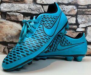 Nike-Magista-Turchese-Blu-Scarpe-Da-Calcio-UK-9-Ottime-condizioni-spedizione-rapida