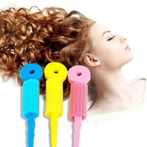 6-Pcs-Mousse-de-Soin-Des-Cheveux-Eponge-Magique-A-Rouleau-Frisoir-Pour-Chev-X4G6