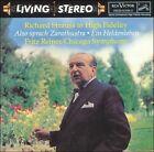 Richard Strauss: Also sprach Zarathustra; Ein Heldenleben (CD, Apr-1993, RCA Victor)
