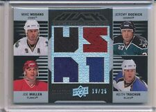 2008-09 UPPER DECK BLACK MIKE MODANO JEREMY ROENICK JOE MULLEN TKACHUK 19/25