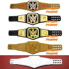 (NEW LOGO) WWE World Heavyweight Championship Women Wrestling Belts Toy Figure