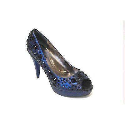 economico in alta qualità KENNETH COLE REACTION GLITTER PEEP ROYAL donna PLATFORM scarpe 7.5M 7.5M 7.5M  spedizione veloce in tutto il mondo