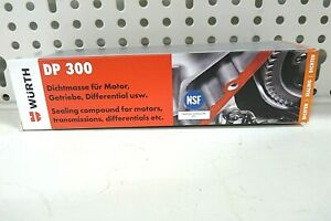 Würth Motoren- und Gehäusedichtungsmasse DP 300 NSF ,Rot, 80 ml (0890100048.6)
