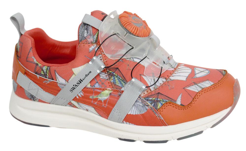 Puma X Swash O Haast Disc Damenschuhe Trainers Orange Slip 358847 On 358847 Slip 01 D128 3e83f2
