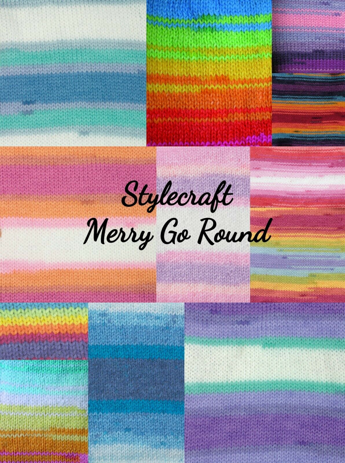 Yarn 100g Stylecraft Wondersoft DK Merry-go-Round Knitting Wool 3141 Strawberry
