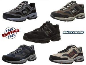 lavoro Scarpa Memory Vigor 0 larghe Foam uomo Sports Skechers da da 2 16 Scarpe Black 7 5w107Iqn