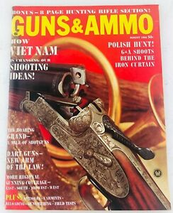 Vintage-GUNS-amp-AMMO-Magazine-August-1966-How-Vietnam-is-Changing-Our-Shooting