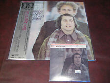 SIMON & GARFUNKEL BRIDGE OVER TROUBLED WATER JAPAN OBI REPLICA CD & VINYL LP SET