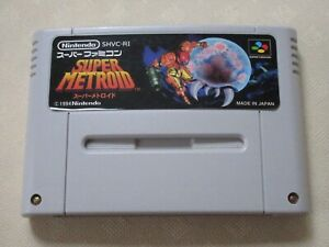 Super-Metroid-SNES-SFC-Nintendo-Famicom-game-tasted-1994-Japanese-Ver-From-Japan