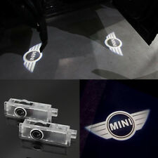 2x MINI Logo LED Laser Cree courtesy Shadow Projector Lights For Mini Cooper