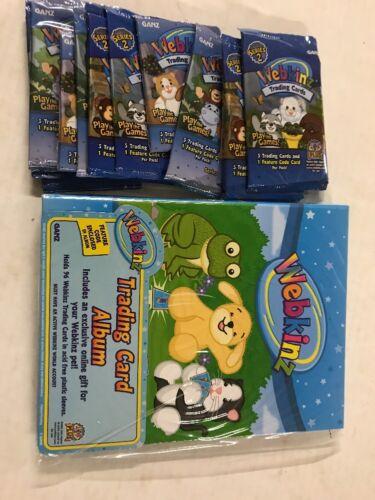 Webkinz Trading Card Album With Code And Bonus 10 Random Webkinz Packs Awesome!