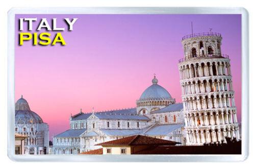 Italie Pisa MOD2 Aimant Souvenir Aimant Frigo