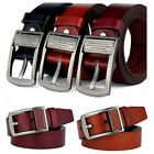 2016 New Men's Casual Buckle Belt Leather Waist Strap Belts Fashion Waistband