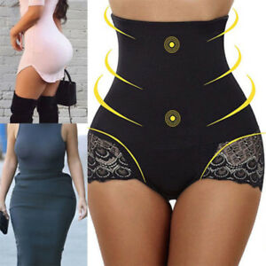 f9aacaa94a Body Shaper Control Tummy Slim Corsets High Waist Lace Shapewear ...