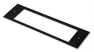 NEW! Ford Falcon XD-XE Radio dash fascia plate only Grey