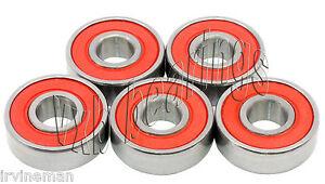 5 Bearings 6204 RS1 Sealed Ball Bearing Electric Motor