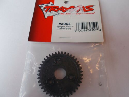 TRAXXAS 3955 spur gear 40-tooth 1.0 metric pitch