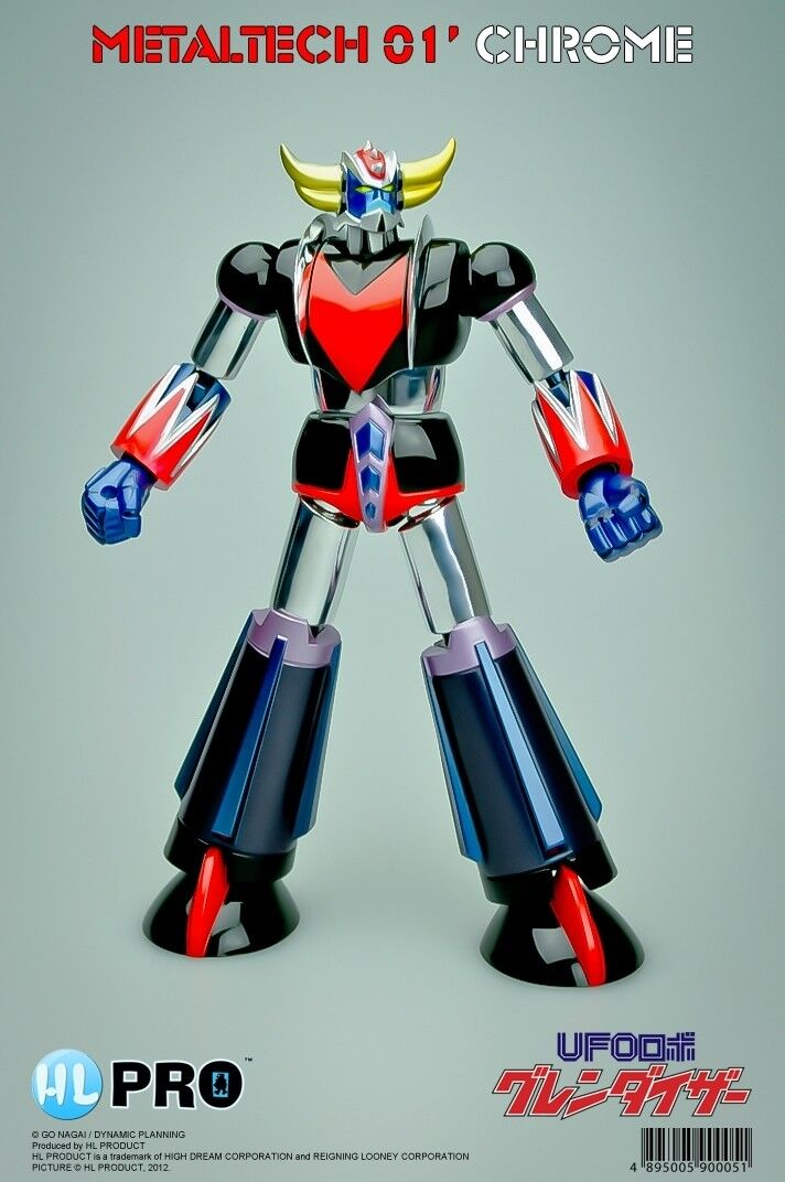 High Dream HL Pro Metaltech MT01 Grendizer Chrome Ed.