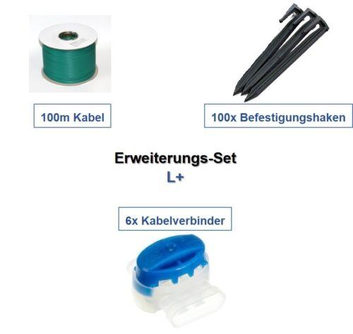 Erweiterungs-Set L McCulloch Rob Kabel Haken Verbinder Erweiterung Paket