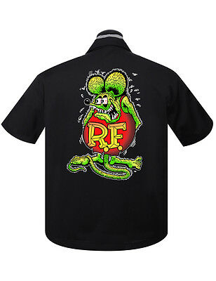 Dragstrip Work Shirt hotrod greaser lost bros dead racer 13 rockabilly biker