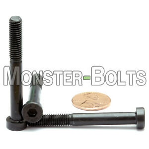 M6 x 12mm Low Head Socket Caps Screws DIN 7984 10.9 Alloy Steel with Black Oxide