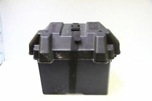 Boat Battery Box with Hold Down Strap for Standard 24 Series Batteries