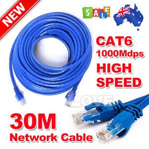 Eway-30M-High-Quality-RJ45-CAT6e-CAT6-Ethernet-LAN-Network-Cable-100M-1000Mbps