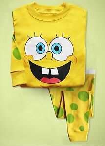 """Spongebob"" Baby Toddler Clothing Kids Boys Pajamas ..."