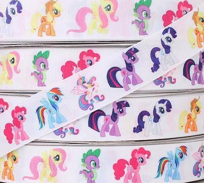 "New DIY Cute Gift Grosgrain Ribbon Lot 5 Yards 1"" 25mm Lovely Little Horse BOW"