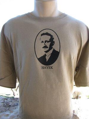 Friedrich von Hayek T-Shirt Road To Serfdom Libertarian