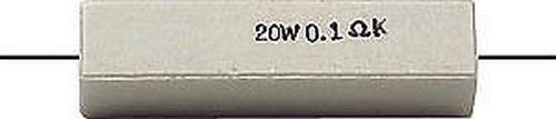 RESISTENZA 20W 0,33 ohm A FILO 1//7008
