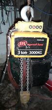 Ingersoll Rand 3 Ton Quantum Electric Hoist 10 Ft Chain Qch200 2ns300