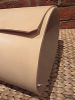"""4 mm THICK TOOLING  NATURAL  VEG TAN LEATHER  12""""x 12""""  WET MOULD EMBOSS SHEATH"""
