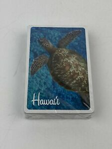 Souvenir-Playing-Cards-Hawaii-Sea-Turtles-NEW