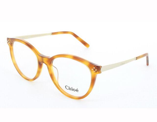 d777b4983f6 NEW Chloe CE2676 725 52mm Blonde Havana Optical Eyeglasses Frames