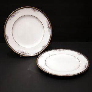 Set-of-2-Noritake-ONTARIO-8-1-4-034-Salad-Plate-Fine-China-3763-Dining-Ware