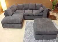 DYLAN CORNER SOFA IN GREY **AVAILABLE IN DIFFERENT COLORS