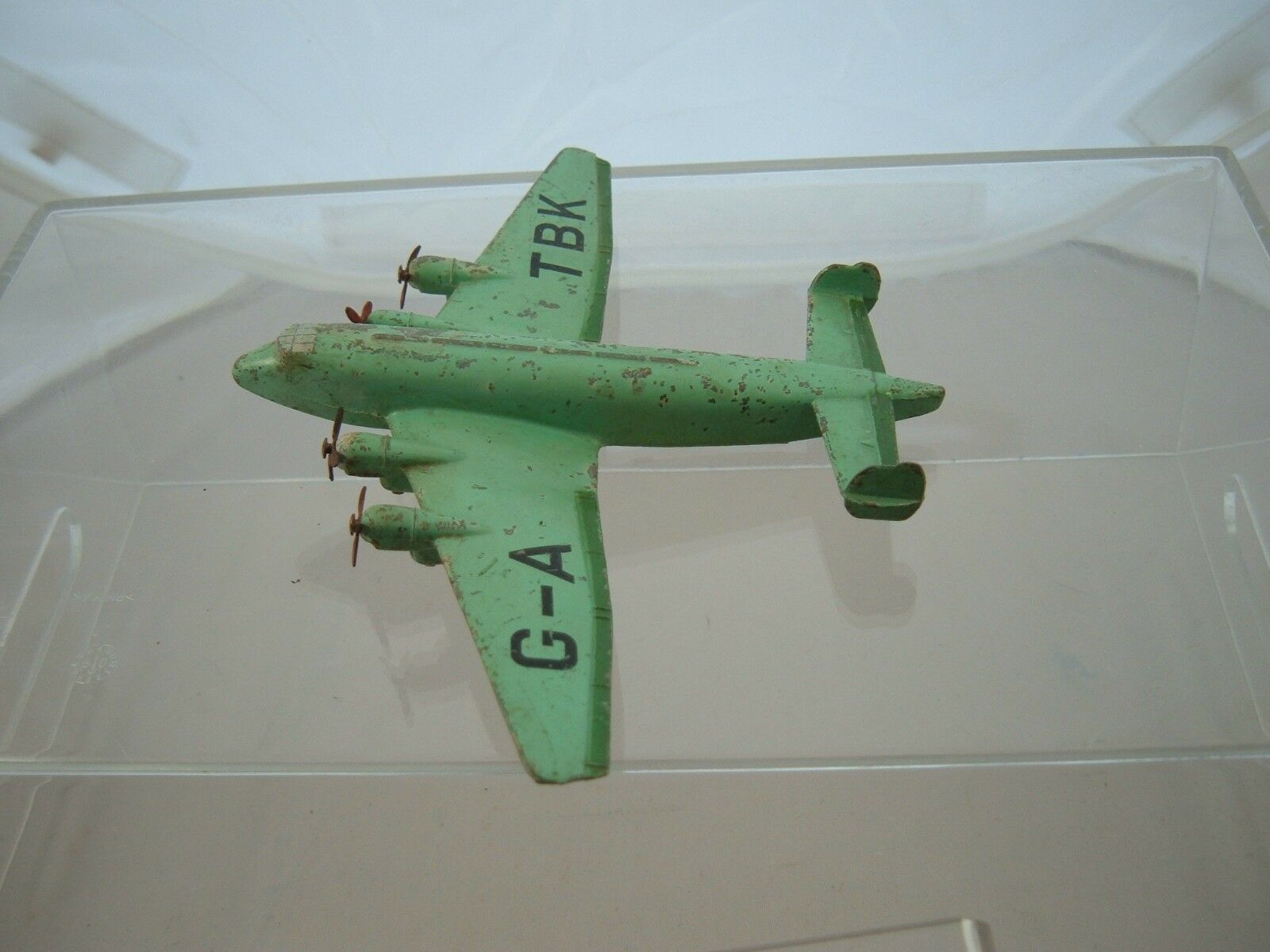 DINKY TOYS 62y GIGANTE HIGH SPEED monoplane  vedi foto