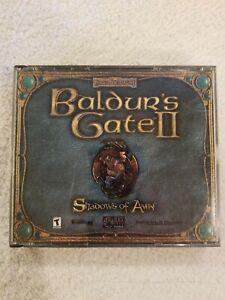 Baldur-039-s-Gate-II-Shadows-of-Amn-PC-CD-ROM-Forgotten-Realms-Bioware-2000