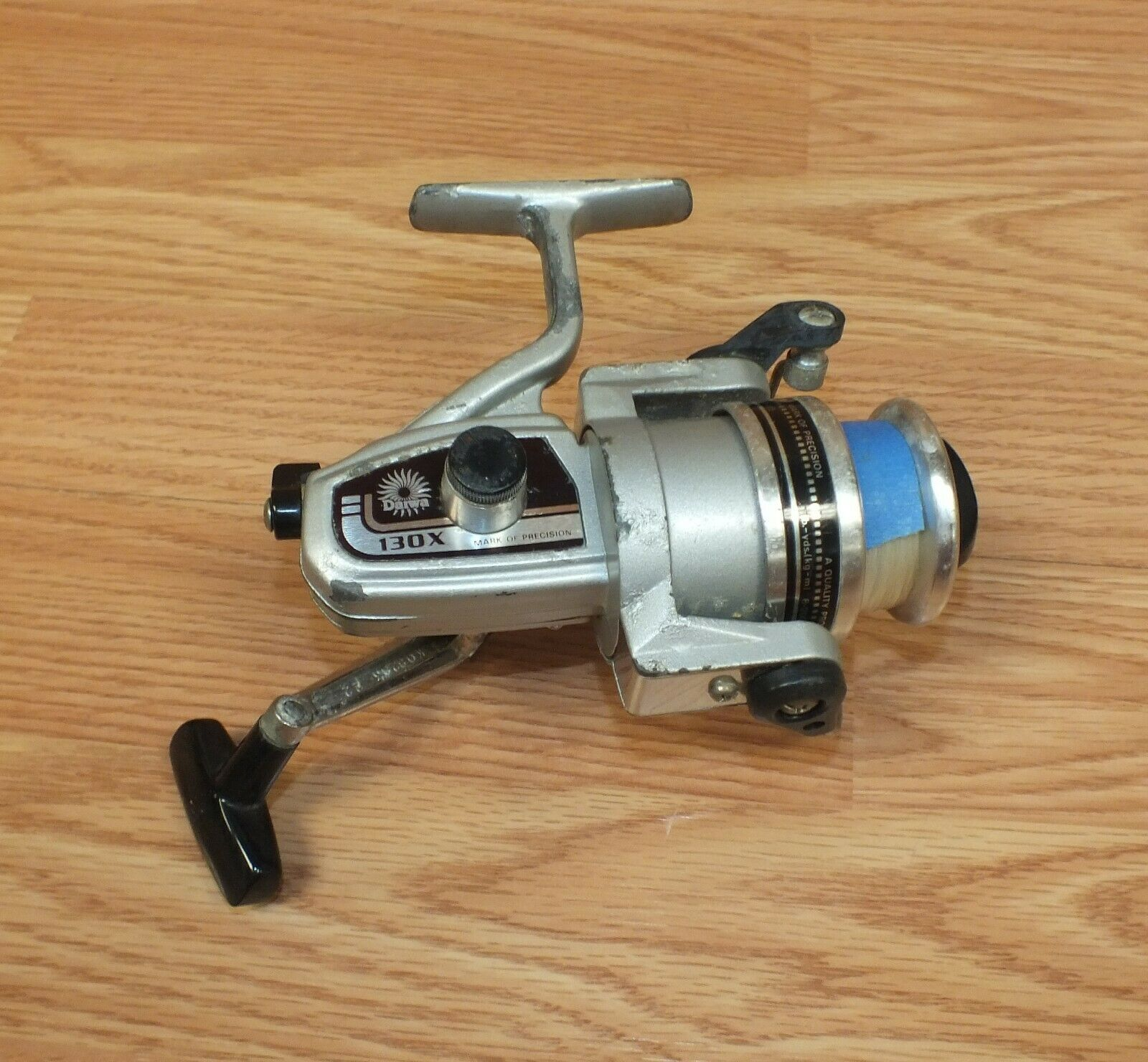 UNTESTED Vintage Daiwa 130X Open Faced Spinning Fishing Reel READ